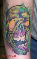 Zombie Tattoo by JasonMas
