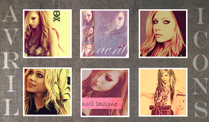 Avril Lavigne Icons by isisphilippe