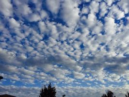 Blue Skies #5/Patchy Clouds #6 by superSeether