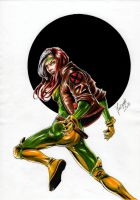 X-men's Rogue by Szigeti