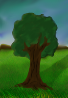 A Single Tree by ABACC15