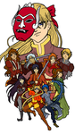 Avatar: The Last Moon Senshi by elfgrove