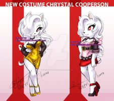 New Costume Chrystal Cooperson basic by eliana55226838