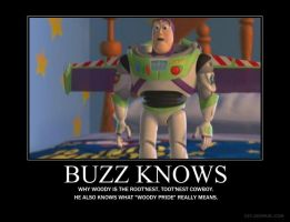 Buzz Knows... by Anachromaniac