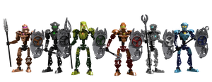 Team Bionicle Toa Hagah by Bobrbor