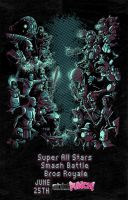 Super All Stars Smash Battle Bros Royale by Fuacka