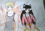 Naruto  Ahri request 2 by SSBBfan666