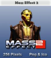 Mass Effect 2 - Thane Icon by JRT25