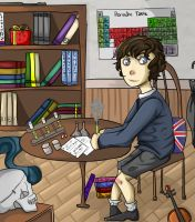Kidlock: A Boy and his Chemistry Set by CobaltPop