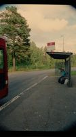 bus stop by intrikat