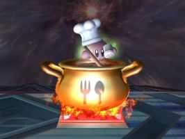 Chef Kirby by Fischy-Kari-chan