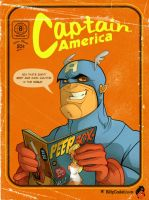 Captain America by blitzcadet