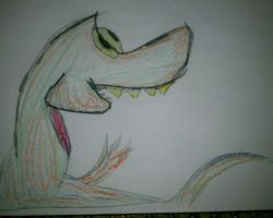 a dinosaur lol by KikiGreenwell