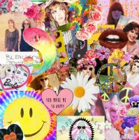 Happy Positive Rad Hip Collage by LivelovelifeEleni