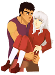 strong arms for bf holding by yusakufujuki