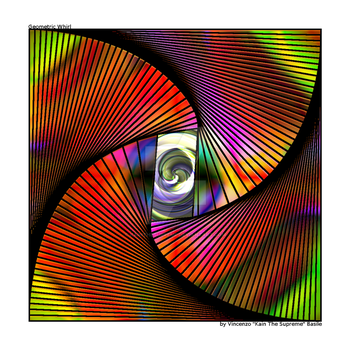 Gimp Geometric Whirl - 2nd Big by KainTheSupreme