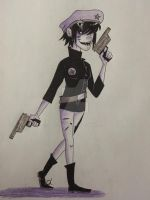 Cyborg Noodle by Shadow0412