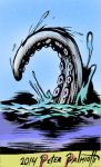 The Tentacle  ...COLORIZED! by PeterPalmiotti