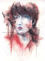 Dongwoon B2ST (watercolor) by traiAgain