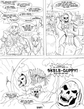 He-Man wins a fish by bodyslam1975