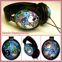 Headphones - Sanrio Characters by Tomo-Chi
