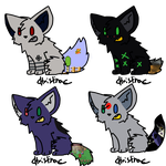 Console Dogs Adopts by thefluffyhandgrenade