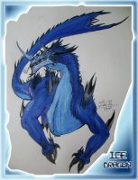 Ice Dragon by Sathiest-Emperor
