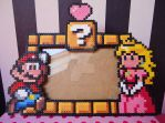 Mario love Peach by KawaiiDeathy