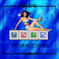 ++Styles- The colors of the sea++ by Starbel27