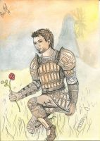 Rose in Lothering (Alistair, Dragon Age) by polinaart1