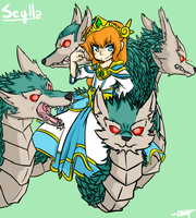 Scylla by LeoDrawsThings