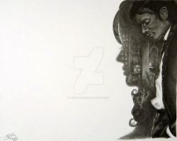 Billie Jean - Finished Drawing by JaiAnarkali
