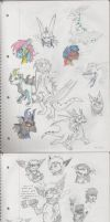 Sketchdump 1 by ExplodedPineapple