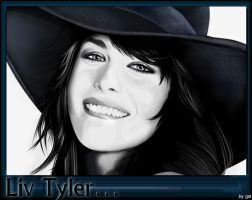 liv tyler by gal-bar