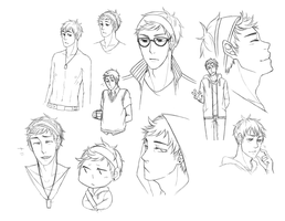 KU: Jay sketch dump by TAKESHl