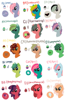 Easter Hatchlings by perfectnesspony