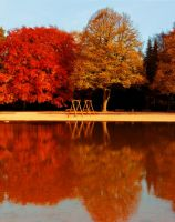 reflex on autumn by rockmylife