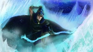 League of Legends Ashe Male by kainthebest
