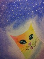 Rainbow Cat by Crida