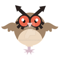 Hoothoot by Drindex