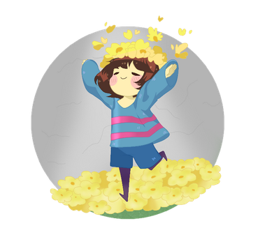 Undertale Frisk by Kuronore