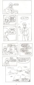 JP Comic Pages 1 and 2 by Kirillee