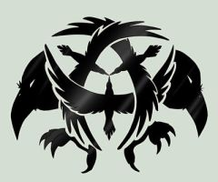 CROW symbol by Death-by-Papercuts