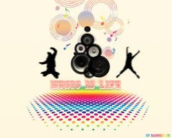 music vector wallpaper by dabbex30