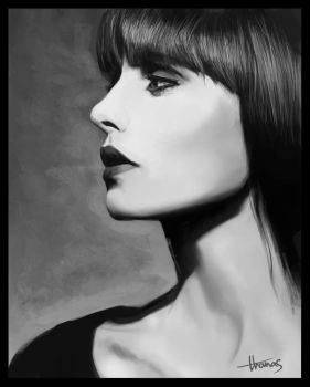 Portrait study by TomAzza