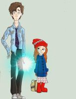 Raggedy and Pond by LivingAliveCreator