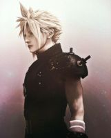 Cloud Strife Dissidia by NinaFullMetal