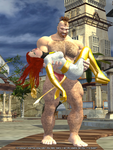 Taking you with me! Zangief vs White Phoenix 3 by BCsupport