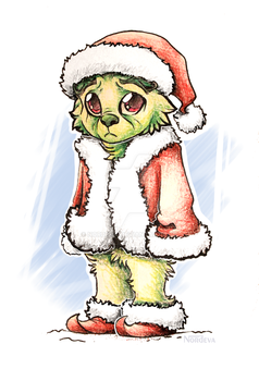 Nobody loves the Grinch :c by Nordeva