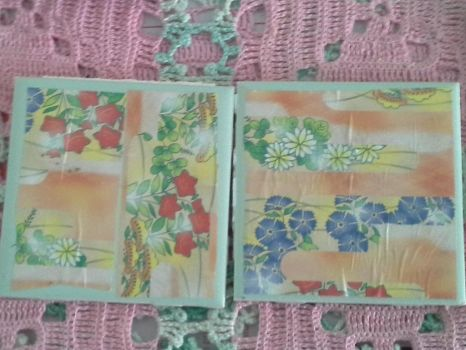 Origami coasters stage 1 by MzKris513